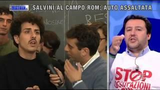 Scontro tra Salvini e il ragazzo che lo ha assalito a Bologna