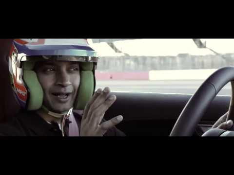 2014 F Type R Coupe vs Range Rover Sport by Narain Karthikeyan