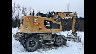 Cat M314F #Wheel #Excavator #Walkaround