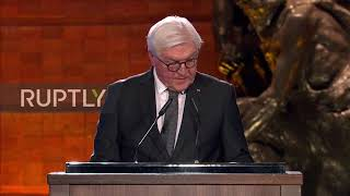 Israel quotI wish I could say Germans have learnedquot - Steinmeier at Holocaust Forum