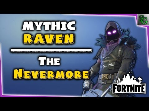 Fortnite - Hero Overview - Mythic Raven (The Nevermore)