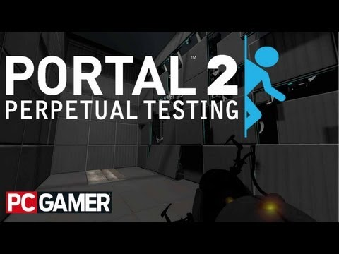 Portal 2 Perpetual Testing Initiative level editor hands on