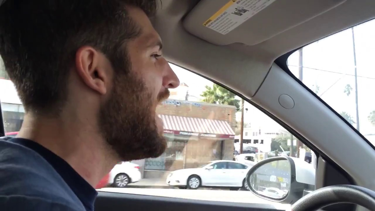 Dude Drops Epic Freestyle While Driving The Streets Of Los Angeles