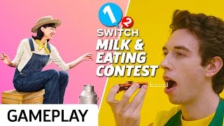 Milking Cows & Eating Sandwiches In 1-2 Switch