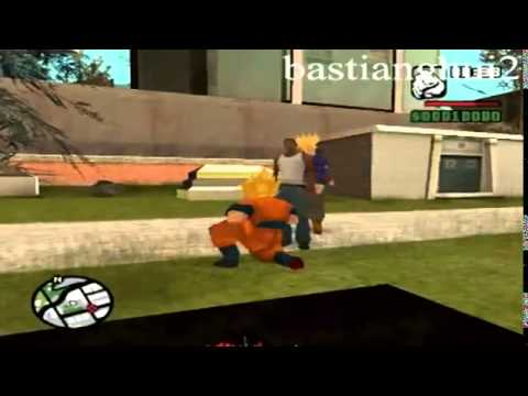 Loquendo Gta San Andreas Goku Vs Scream,nemesis,saw video