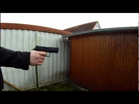 Heckler & Koch P30 9mm P.A.K. by Umarex / Walther Stop Blitz Schreckschuss / Blank cartridge gun