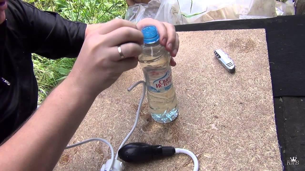 Фильтр для воды своими руками для похода
