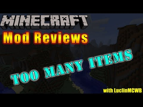 Minecraft Mod Reviews - Too Many Items by Marglyph