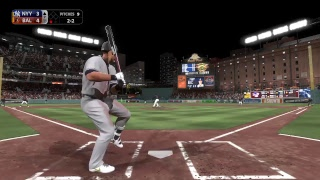 Scoop Dan MLB The show 18 franchise Yankees vs Orioles Game 58