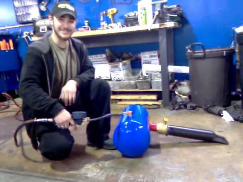 Tire Bead Blaster >> home made bead blaster tire seater - YouTube