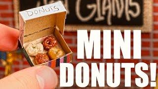 MINI DONUTS!
