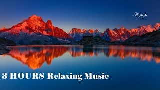 3 HOURS Relaxing Music | Chinese Flute with Water Sounds | for Stress Relief, Massage, Spa