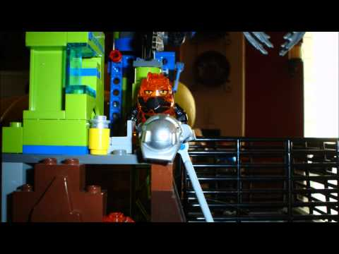 Surprise Attack at Lavatraz (Lego Power Miners Movie)