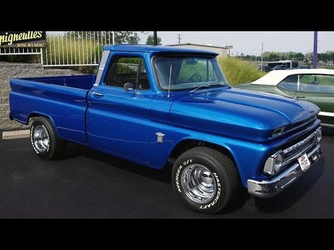 Chevy Truck Wheels >> 1965 Chevrolet C10 Hot Rod Pickup 400 SBC V8 - YouTube
