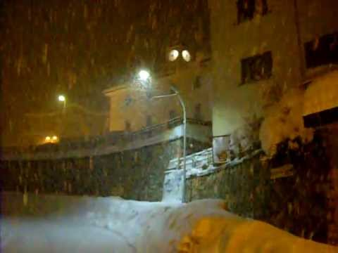 NEVICATA STUPENDA AD ATELETA.....FEBBRAIO 2012