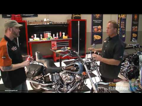 Part 1 - Mike Phillips and Bobby Britt detail a Harley Davidson Motorcycle with S100 Products