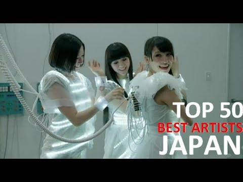 TOP 50 | ベスト日本のアーティスト / Best Artists Japan - Male and Females ( J-POP)