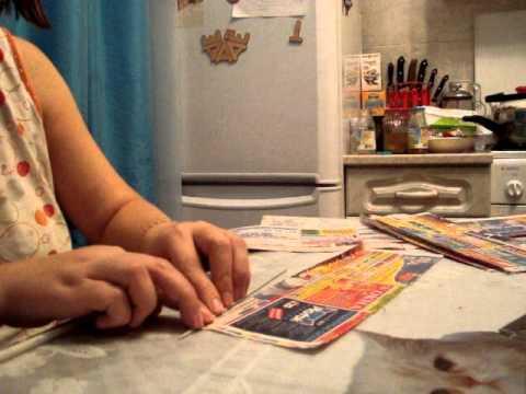 Уроки плетения из газет - видео