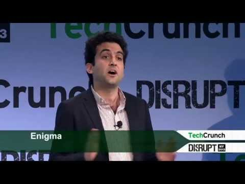 Enigma Presentation: Startup Battlefield | Disrupt NY 2013