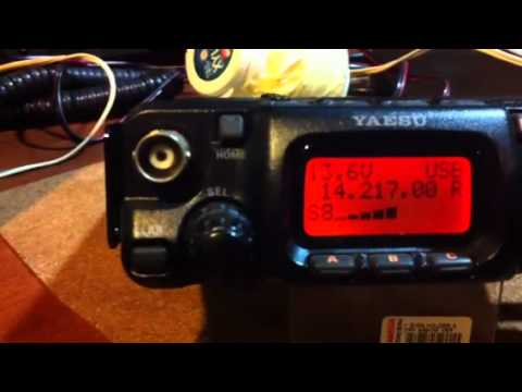 QRP with end-fed antenna working Europe