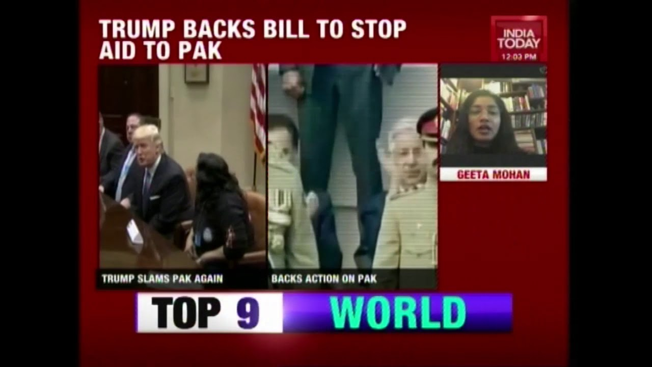 Donald Trump Continues To Attack Pakistan, Backs Bill To Stop Aid To Pakistan