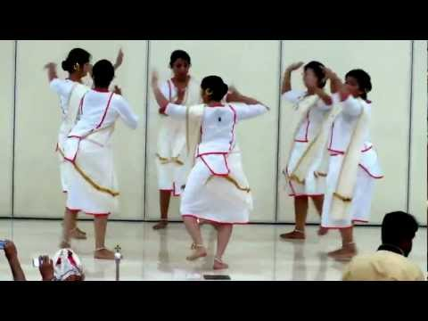 Margam Kali : St. Mary's Knanaya Church Sharjah Onam Celebration 2012. video