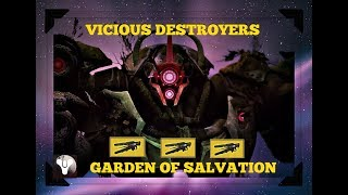 Destiny2 Livestream Raiding with friends Garden of salvation Saturday road to 2k Subs