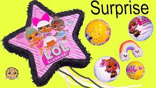 Giant LOL Surprise Star Filled with Blind Bags ! Cookie Swirl C Video