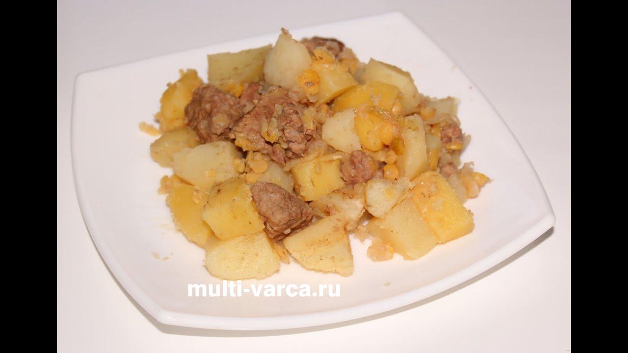 Жаркое из говядины в мультиварке - пошаговый рецепт 18