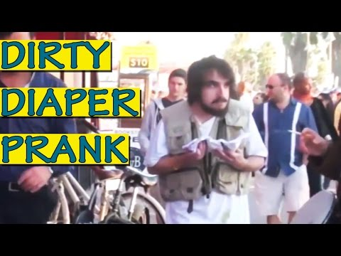 Dirty Diaper Bum Prank