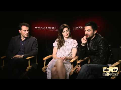 Dominic Cooper, Rufus Sewell & Mary Elizabeth Winstead Talk 'Abraham Lincoln: Vampire Hunter'