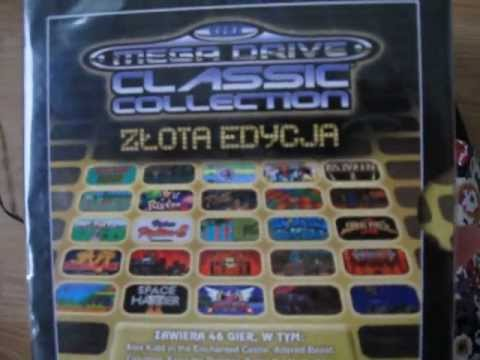 Unpacking - Sega Mega Drive Classic Collection (złota edycja)