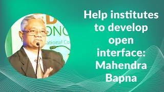 Help institutes to develop open