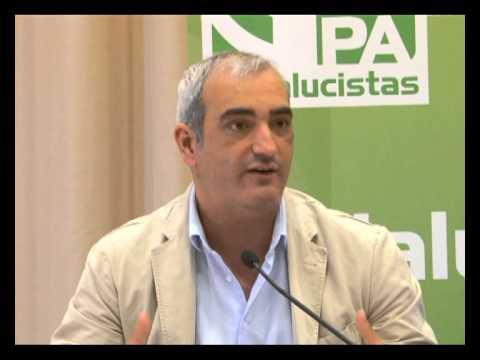 Rueda Prensa en Marbella presentación candidato Enrique Piñero