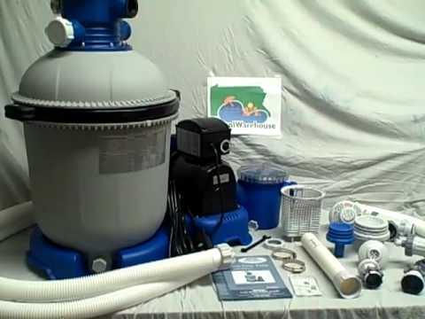 Hook up pool filter