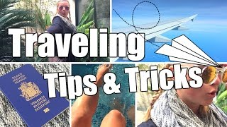 Travel Routine: Tips, Tricks & More! + Cheap Tickets