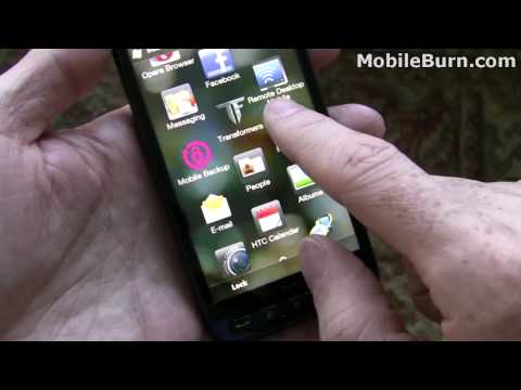 T-Mobile HTC HD2 unboxing