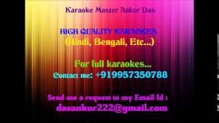 Amar Haar Kala Korlam Re Karaoke By Ankur Das 09957350788