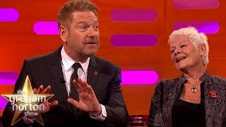 Dame Judi Dench Exposed Herself to Kenneth Branagh!   The Graham Norton Show