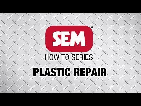 SEM How to Series: Plastic Repair