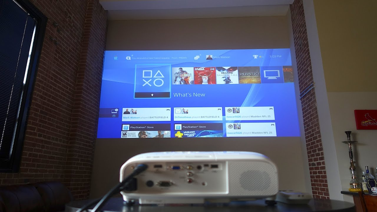 Epson Powerlite Home Cinema 2000 Projector Review Youtube