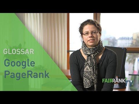 Google PageRank | FAIRRANK TV - Glossar