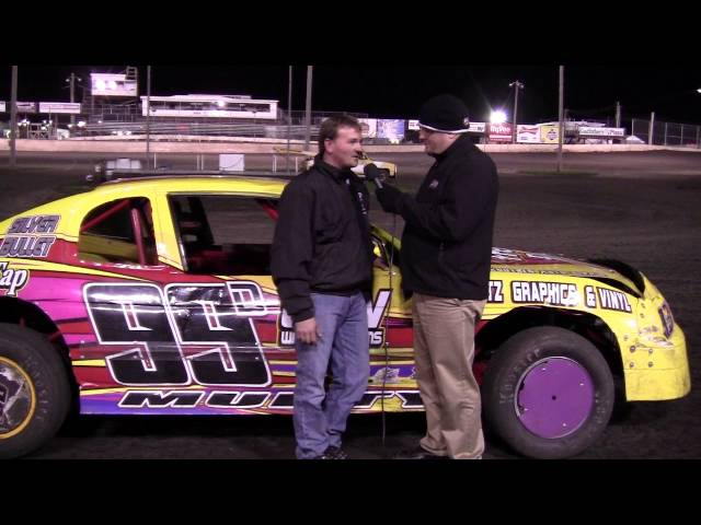 Damon Murty - Stock Car Feature Winner at Boone Speedway 4/20/13