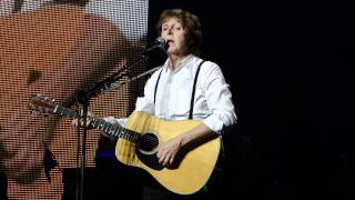 Paul Mccartney I Will Montreal 7 26 11