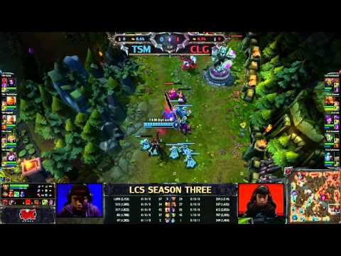 TSM vs CLG - LCS 2013 NA Spring W1D1 (English)