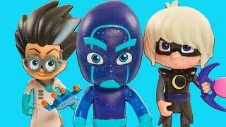 PJ Masks Creations | Villains Attack! | PJ Masks Toy Play | Cartoons for Kids