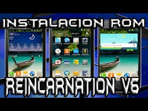 Instalacion Rom Reincarnation v6 Para Samsung Galaxy Young