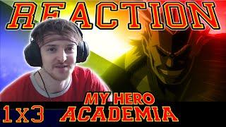 "My Hero Academia: Season 1 - Episode 3 REACTION ""INHERITANCE?!"""