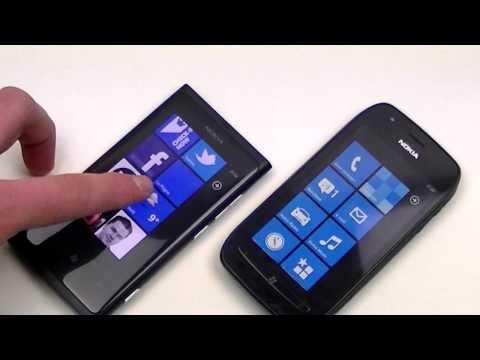 Nokia Lumia 800 vs Nokia Lumia 710 (NL)