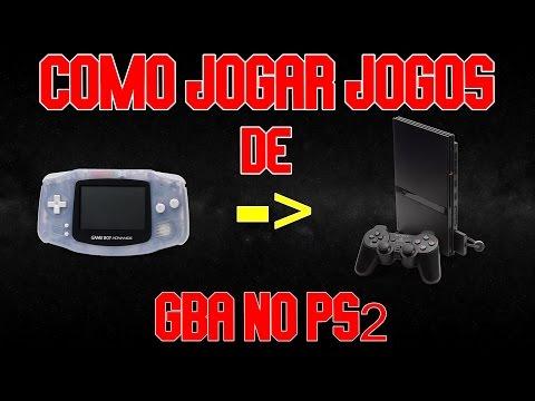 Como jogar jogos de GBA ( Gameboy Advanced ) no PS2 - NSD